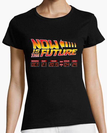 Camiseta Now is the future