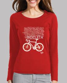 nuage de bicyclette de sensations