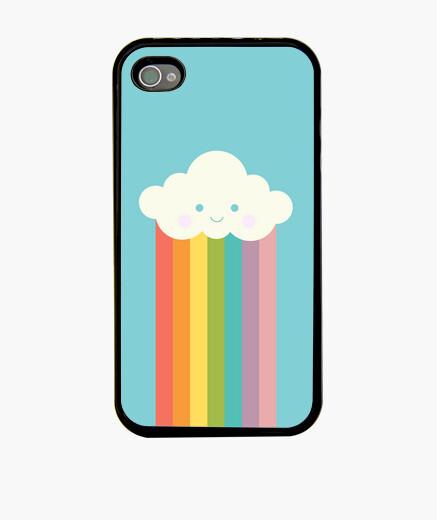 Funda iPhone Nube arco iris orgulloso