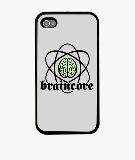 Funda iPhone Núcleo Atómico Cerebro de Braincore