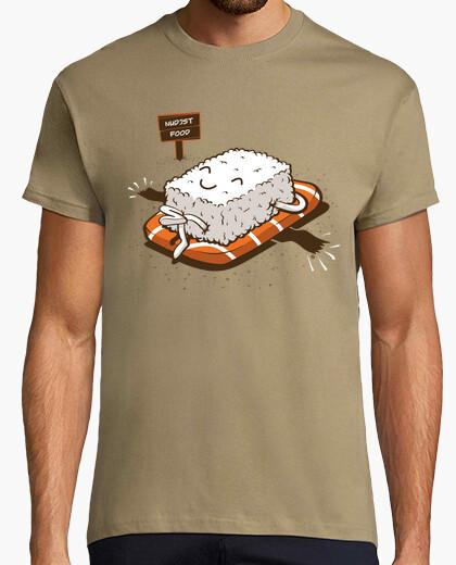 T-shirt Nudist food