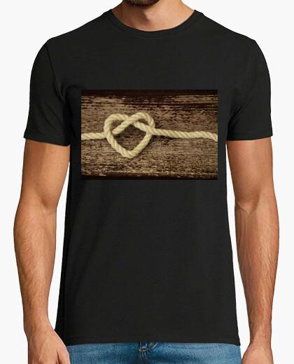Camiseta Nudo de corazón