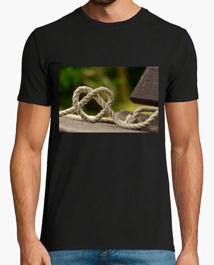 Camiseta Nudos de corazón