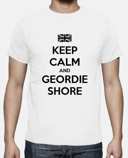 Camisetas NUEVO: Keep Calm and Geordie Shore - Chico
