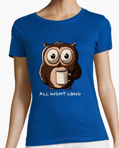Tee-shirt nuit hibou