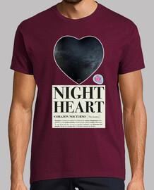 nuit homme de cœur