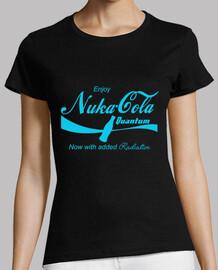 Nuka Cola (Azul sobre negro)