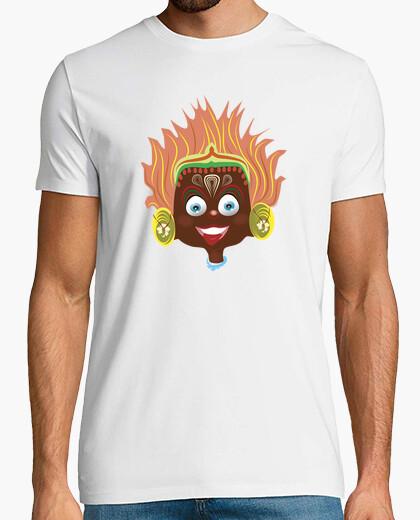Camiseta Nuly Sanny Yakka, manga corta, blanco, calidad extra