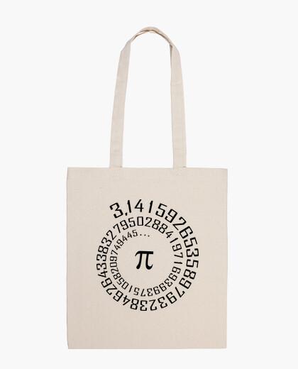 Number pi - maths - bag