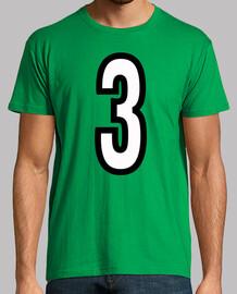 Número 3 (ambos lados)