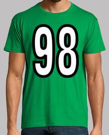 Número 98 (ambos lados)