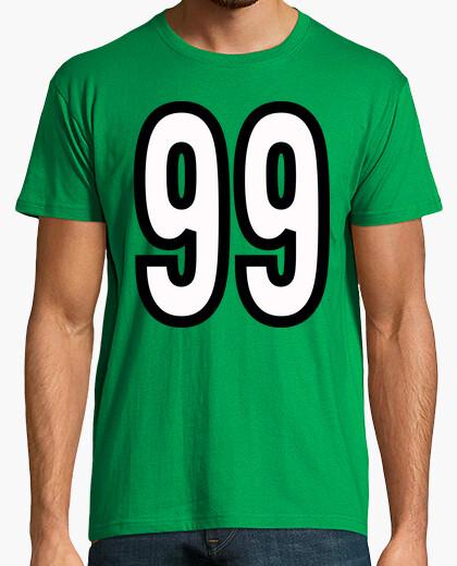 Camiseta Número 99 (ambos lados)