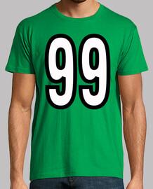 Número 99 (ambos lados)