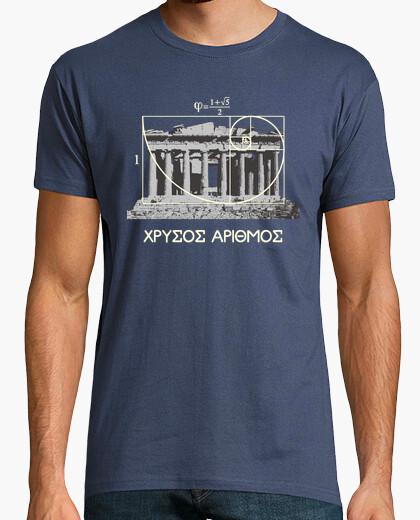 Camiseta Número Áureo (en griego: jrisós arizmós)