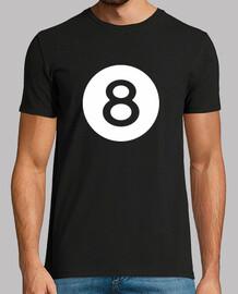 numéro de boule de billard 8