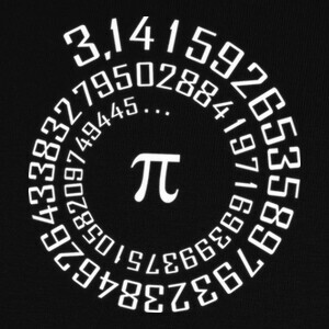 Número Pi - Camiseta Maths T-shirts