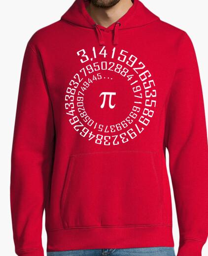 Sudadera número Pi - maths