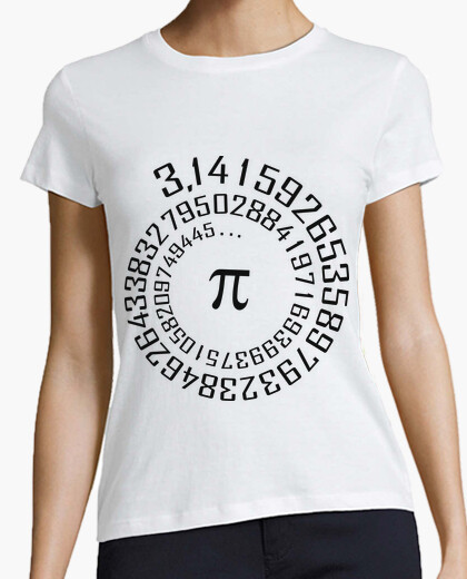 Camiseta número Pi - Maths -