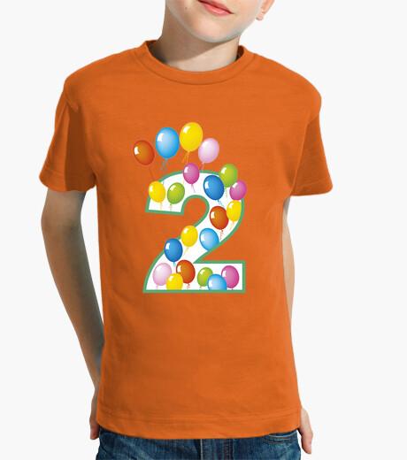 Abbigliamento bambino numero secondo compleanno dovuta