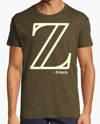 Camiseta Números enteros