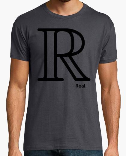 Camiseta Números Reales