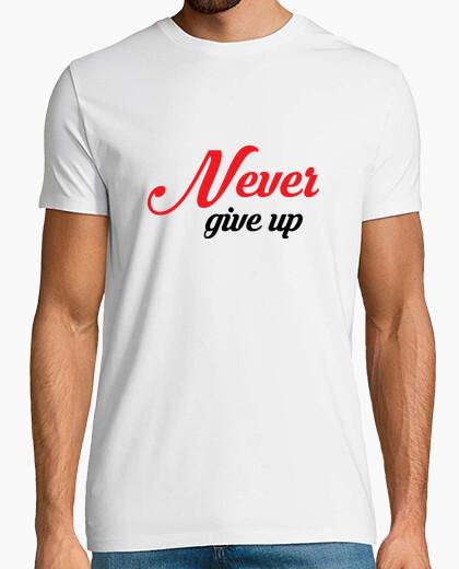 Camiseta nunca darse por vencido / Courage / pre