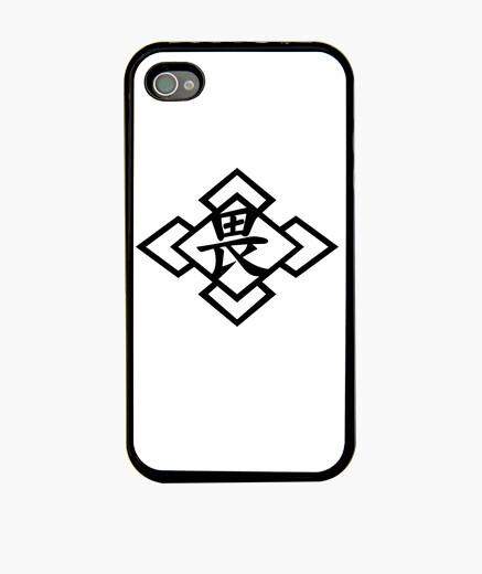 Coque iPhone nura osore logo iphone4 case