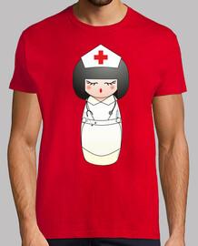 nurse kokeshi