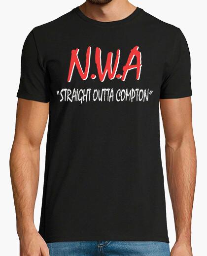 Camiseta N.W.A - Straight Outta Compton
