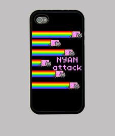 NYAN ATTACK FUNDA IPHONE 4