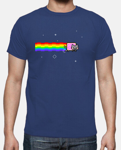 Camisetas Nyan Cat - Friki