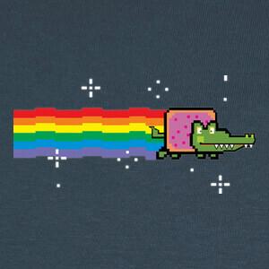 Tee-shirts Nyan croc