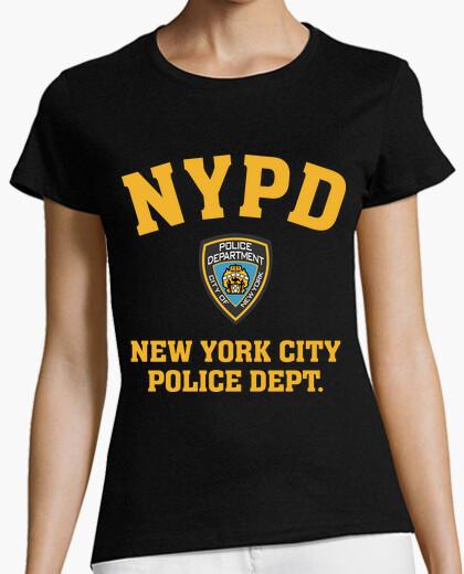 Camiseta NYPD, policía de Nueva York