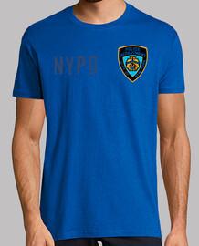 NYPD type 1, manga corta, amarillo