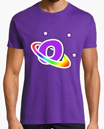Tee-shirt O purple