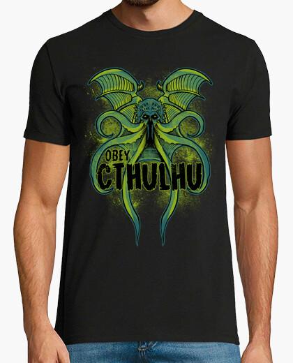 Camiseta obedecerlo cthulhu