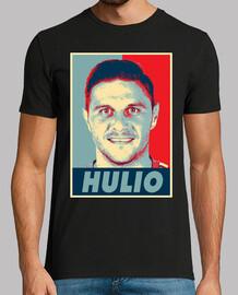Obey Hulio, Hombre, manga corta, negra, calidad extra