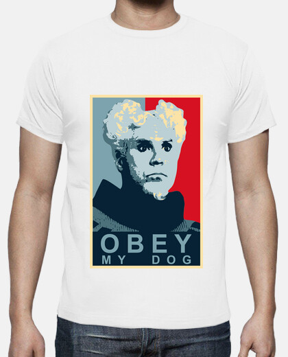 Camisetas Obey my dog