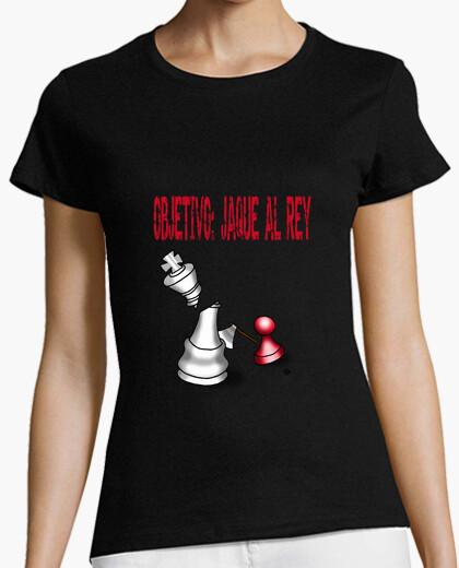 Camiseta Objetivo jaque al rey