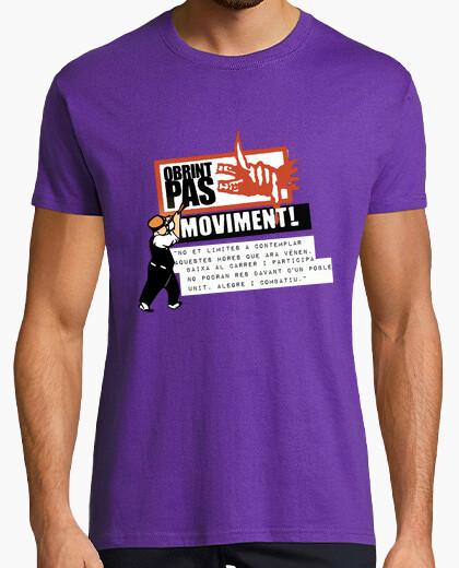 Camiseta OBRINT PAS LLUITA DE POBLE