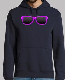 occhiali viola