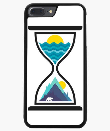 Funda iPhone 7 Plus / 8 Plus Océano y tiempo de montaña