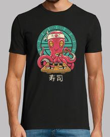 octo sushi bar camisa para hombre