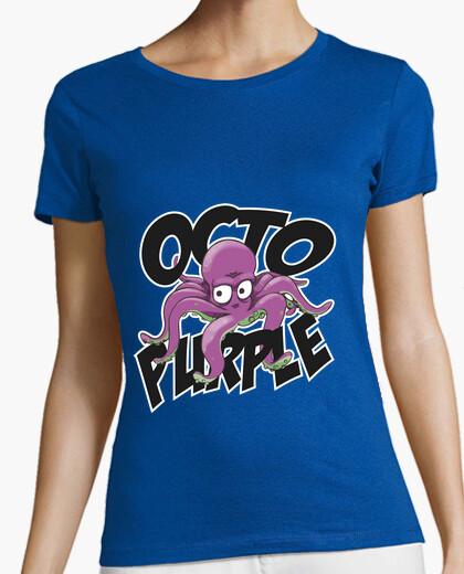 Tee-shirt octo violet