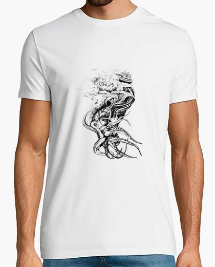 Octopus- optopus, pirate t-shirt