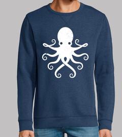 Octopus Love Vintage Minimal Design