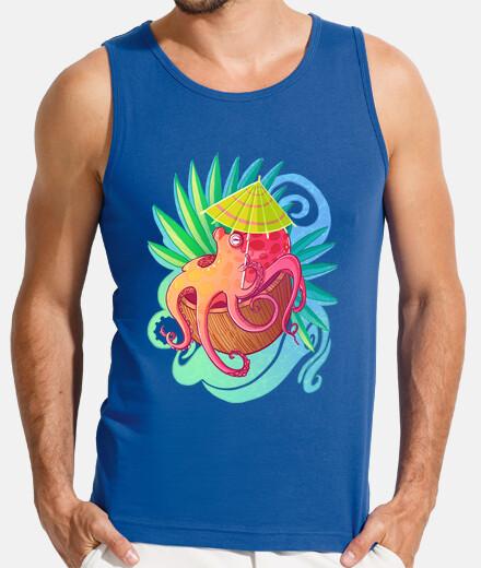 Octopus on the Beach