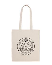 ocultura círculo negro bolsa