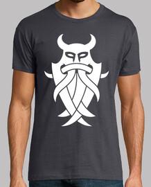 Odin masque tribal (blanc)