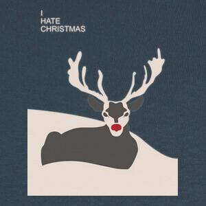 Tee-shirts Odio la Navidad